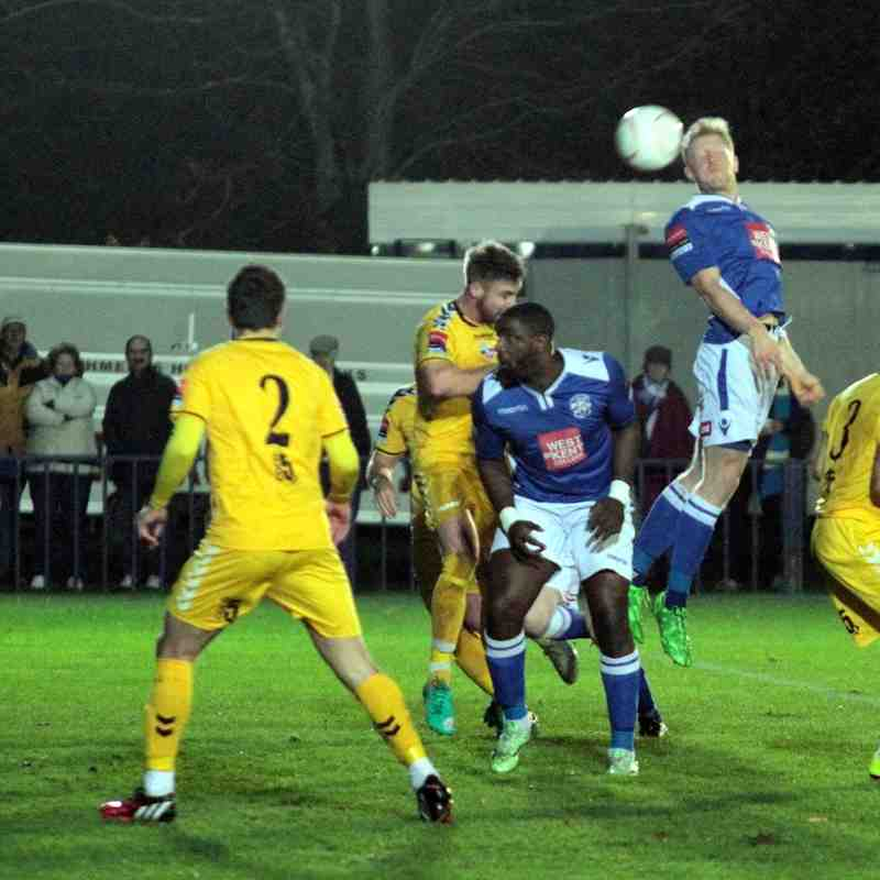 Angels v Lewes 17.11.15. By David Couldridge