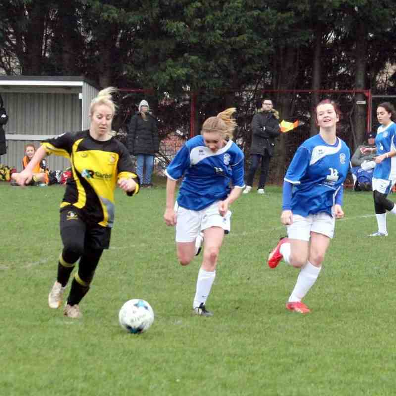 Larkfield Ladies v Angels Ladies :  06.12.15