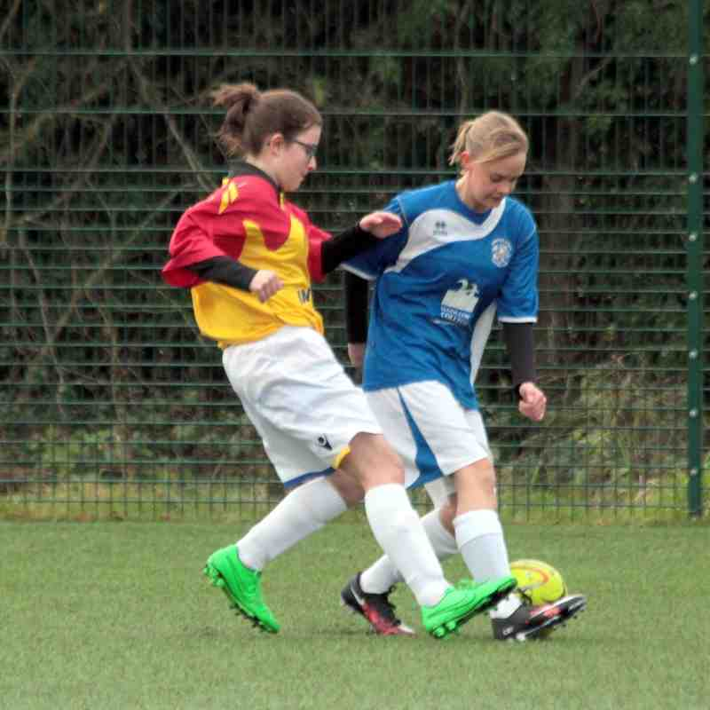 Angels Ladies v Aylesford Reserves 17.01.16. by David Couldridge
