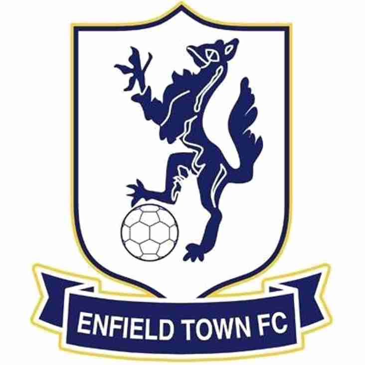 Enfield Town v Angels Re-arranged  fixture