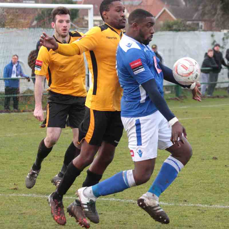 East Thurrock Utd v Angels 05.03.16.  by David Couldridge