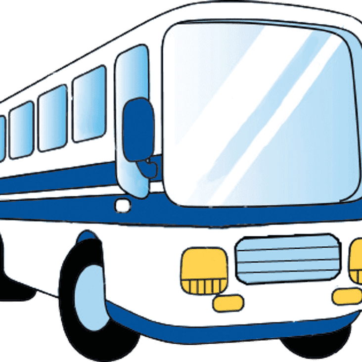 Lowestoft Town v Angels : 20.08.16. : Supporters coach