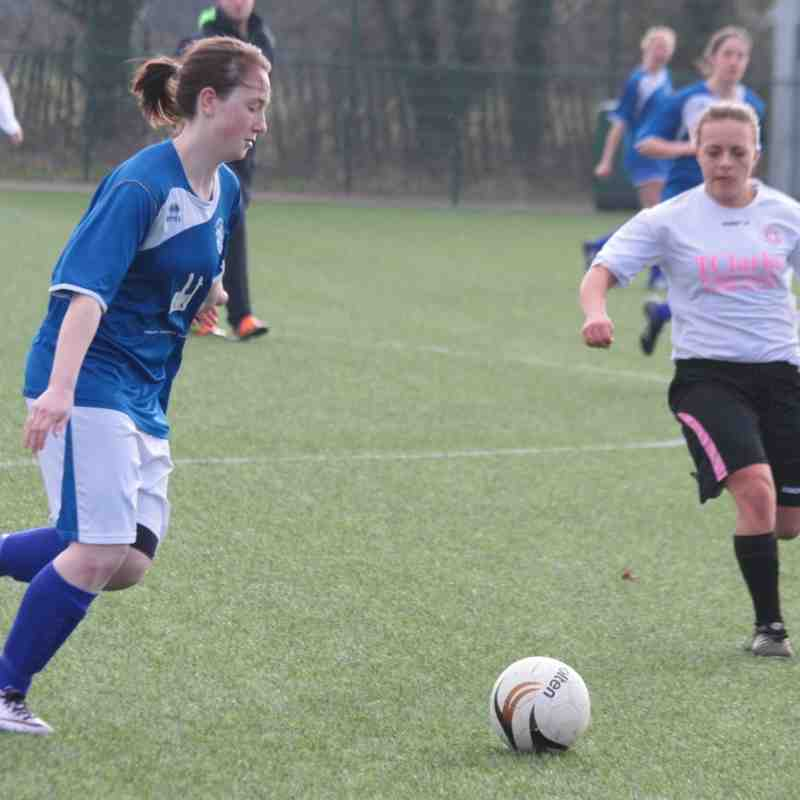Angels Ladies v Swale 13.03.16. by David Couldridge