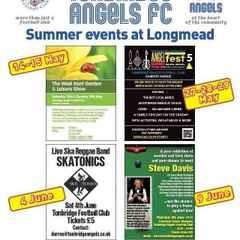 2016 Summer Events at Longmead home of Tonbridge Angels FC