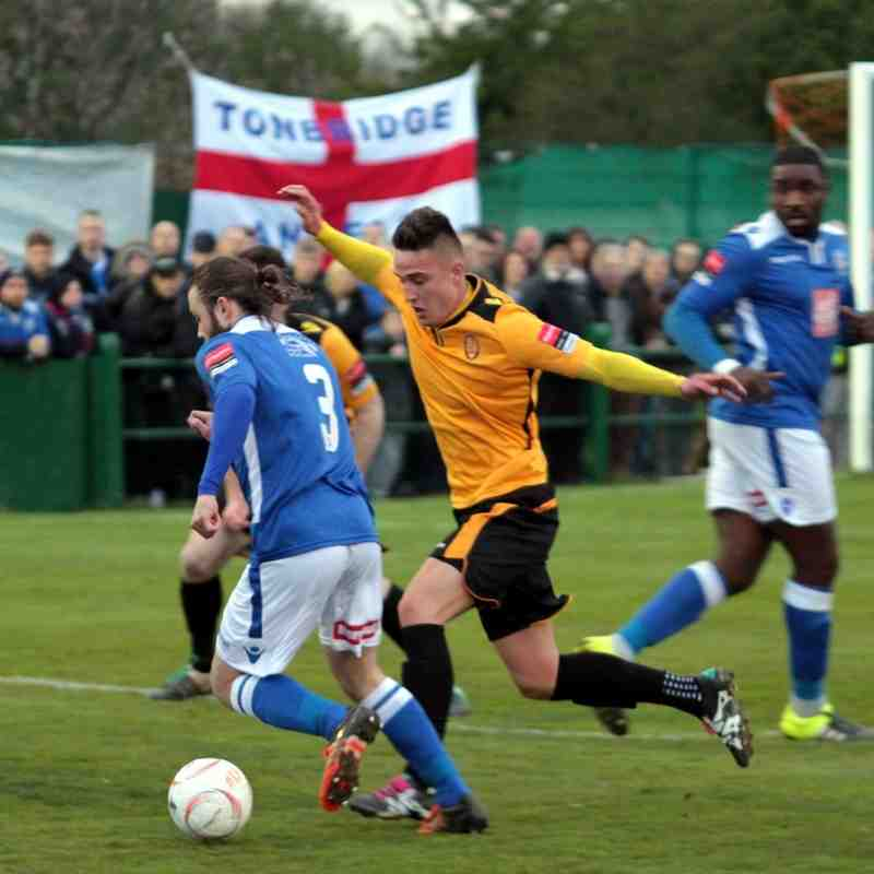E. Thurrock Utd v Angels 28.04.16. by David Couldridge