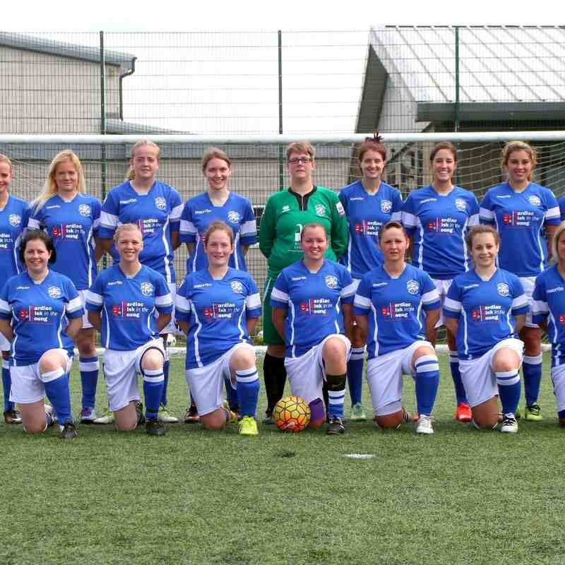Angels Ladies v Castle Colts 07.08.16. by David Couldridge