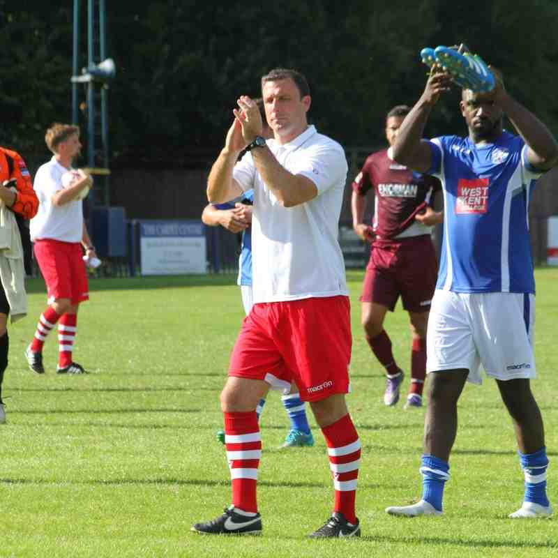 Angels v Wingate & Finchley 13.08.16. by David Couldridge
