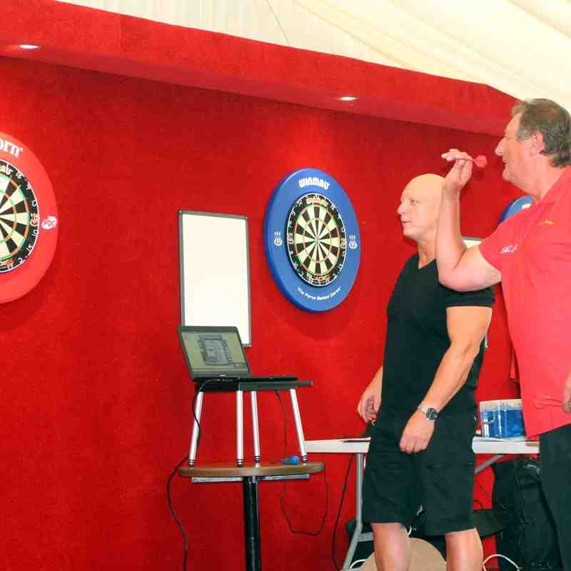 Eric Bristow Evening in the Events Marquee 25.08.16. by David Couldridge