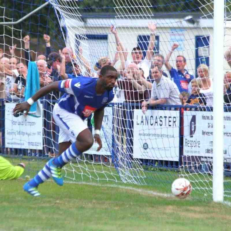 Angels v Billericay Town 29.08.16. by David Couldridge