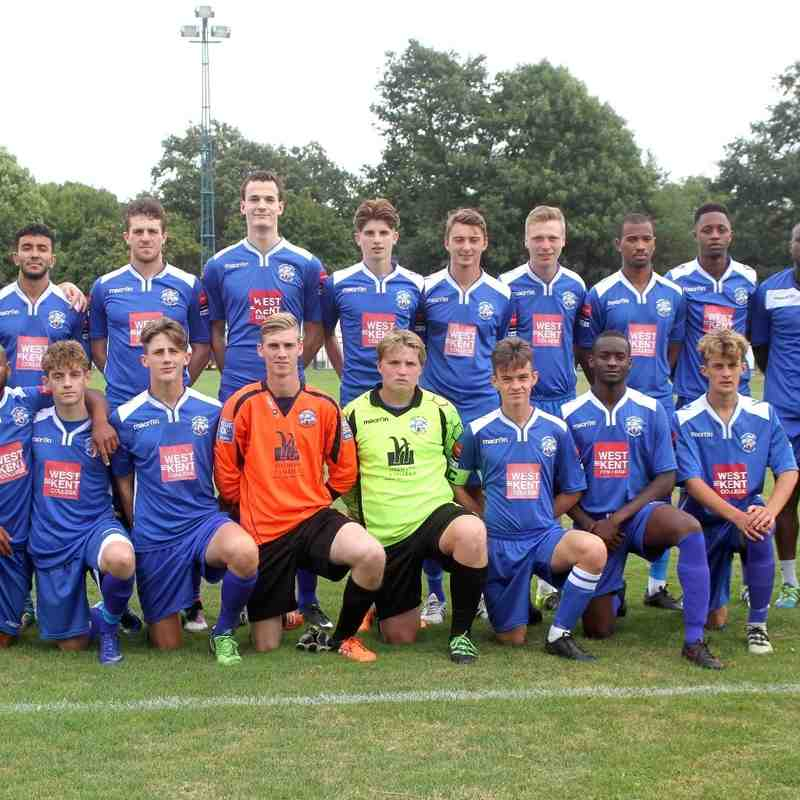 Angels Reserves squad 2016-17 by David Couldridge