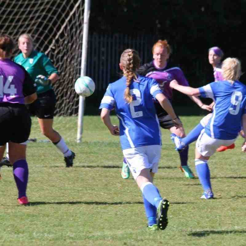 Angels Ladies v Anchorians Development : 11.09.16. By David Couldridge