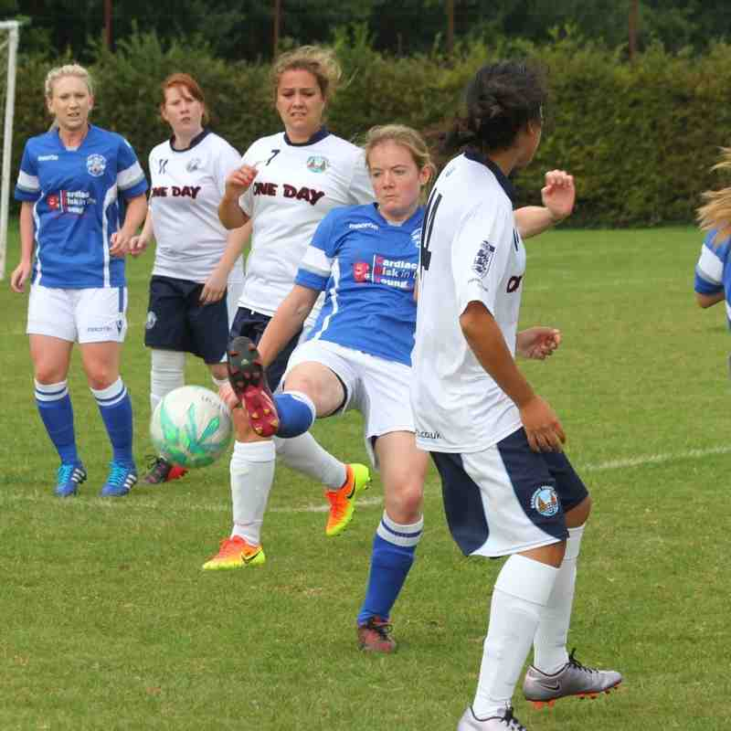 Angels Ladies v Barming 18.09.16. by David Couldridge
