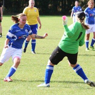 Ladies overwhelm Aylesford Reserves