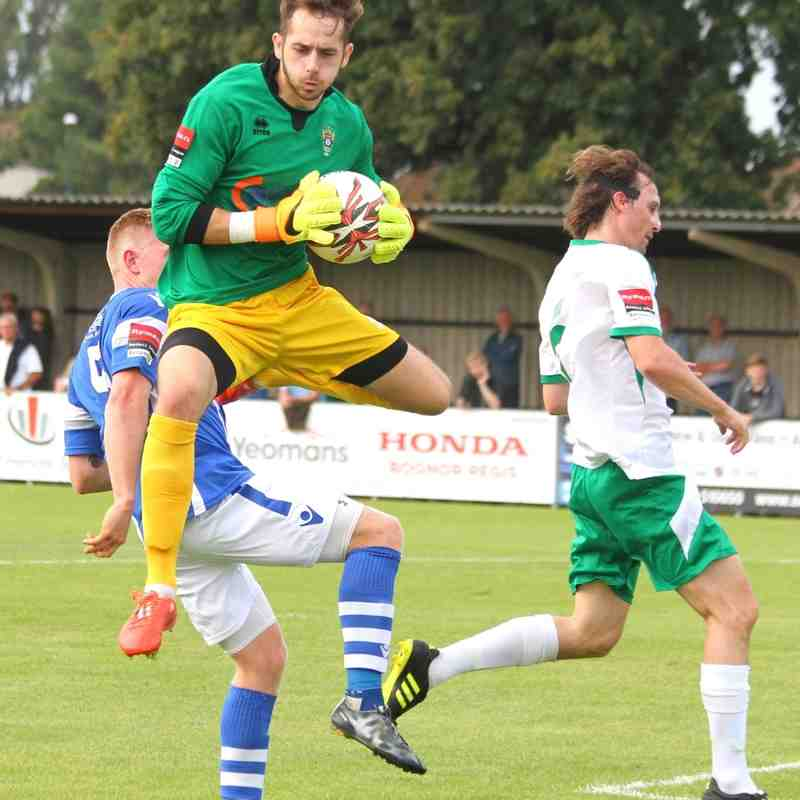 Bognor Regis T.(2) v Angels (0). 24.09.16.Ryman Premier By David Couldridge