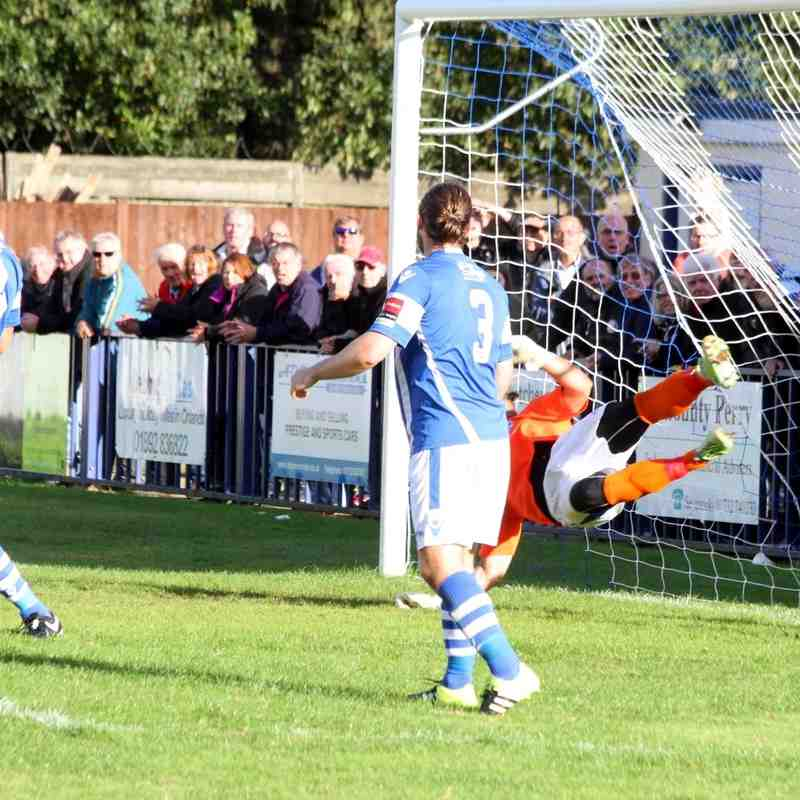 Angels (4) v Hereford (2) FA Cup 3rd qualifying round 01.10.16 by David Couldridge & Wes Filtness