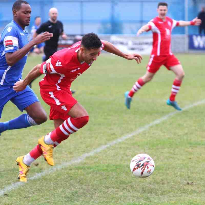 Grays Athletic (0) v Angels (2) Ryman Premier 08.10.16. by david Couldridge
