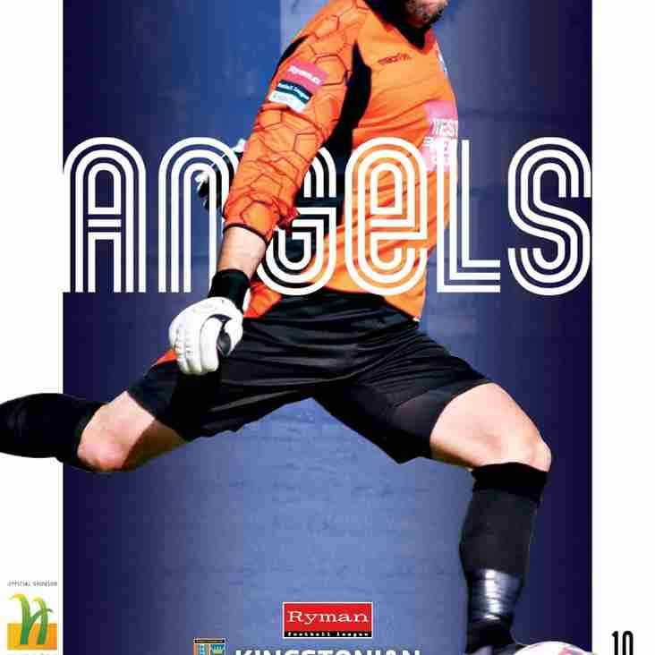 Programme Preview : Angels v Kingstonian : 05.11.16.