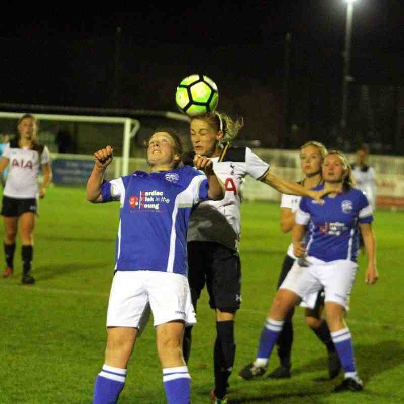 Tottenham Hotspur Ladies (14) v Angels Ladies (1) Boux Ave Cup 2nd Rd. 10.11.16. By David Couldridge