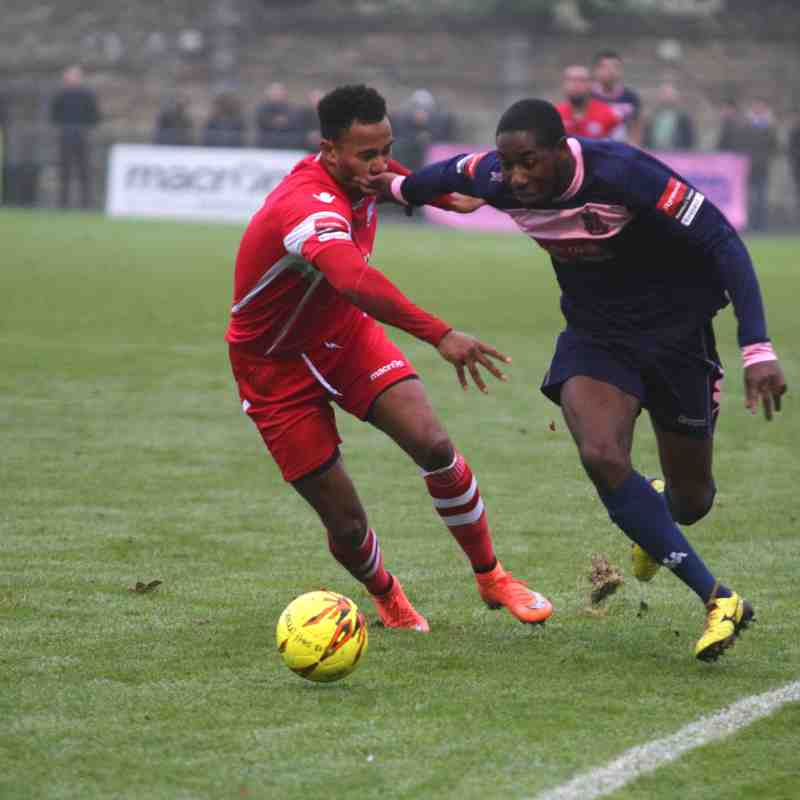 Dulwich Hamlet (1) v Angels (2) : 17.12.16. by David Couldridge