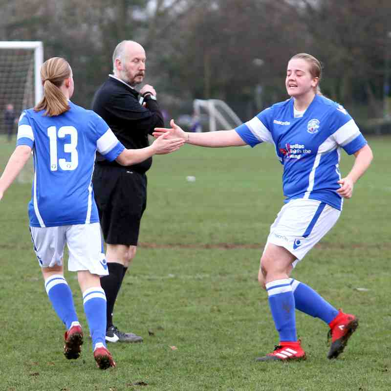 Anchorians Development(1)  v Angels Ladies(5) SEC 08.01.17. by David Couldridge