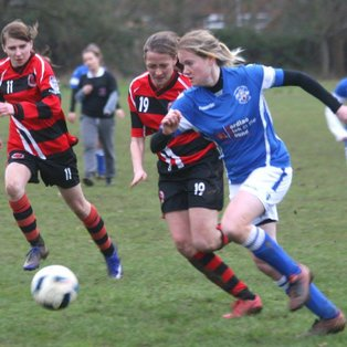 Comprehensive win for our Ladies