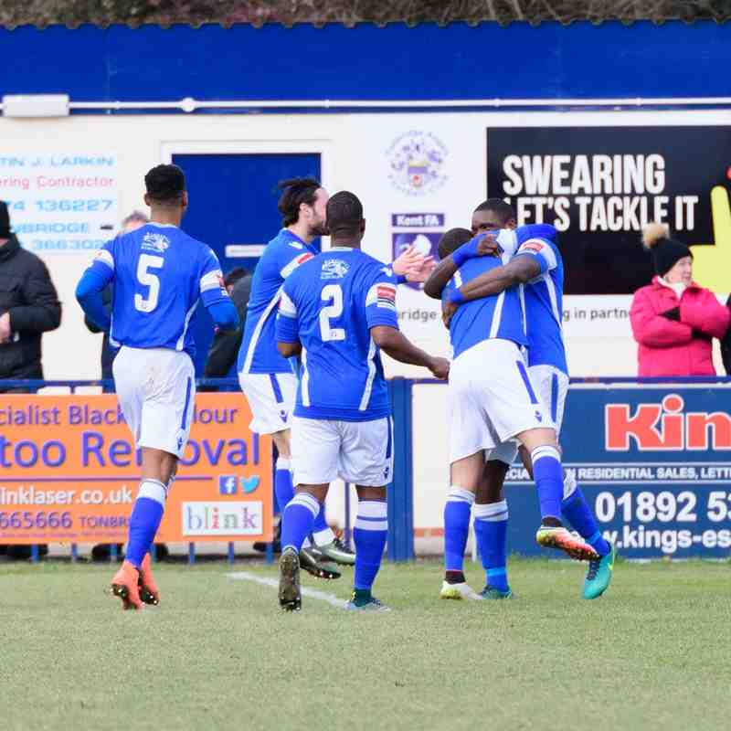 Angels (1) v Lowestoft Town (0), Ryman Premier 28.01.17. By Wesley Filtness