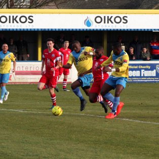 Angels double over Canvey Island