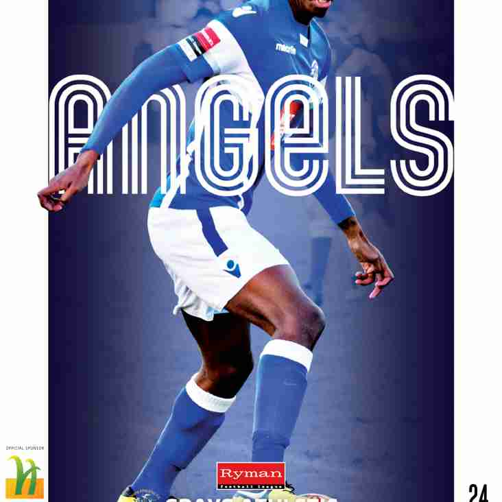 Angels v Grays Ath : 11.02.17. : Programme preview