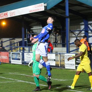 Angels up to 4th after 3-0 win over Enfield Town