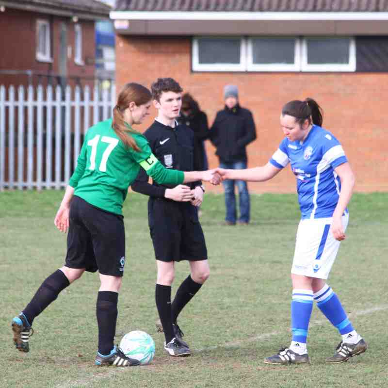 Angels Ladies(5) v Vinters(1) 19.02.17. SCL by David Couldridge