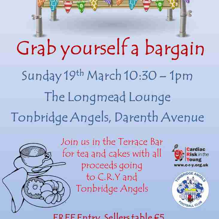 Table Top Sale at Longmead 19th March