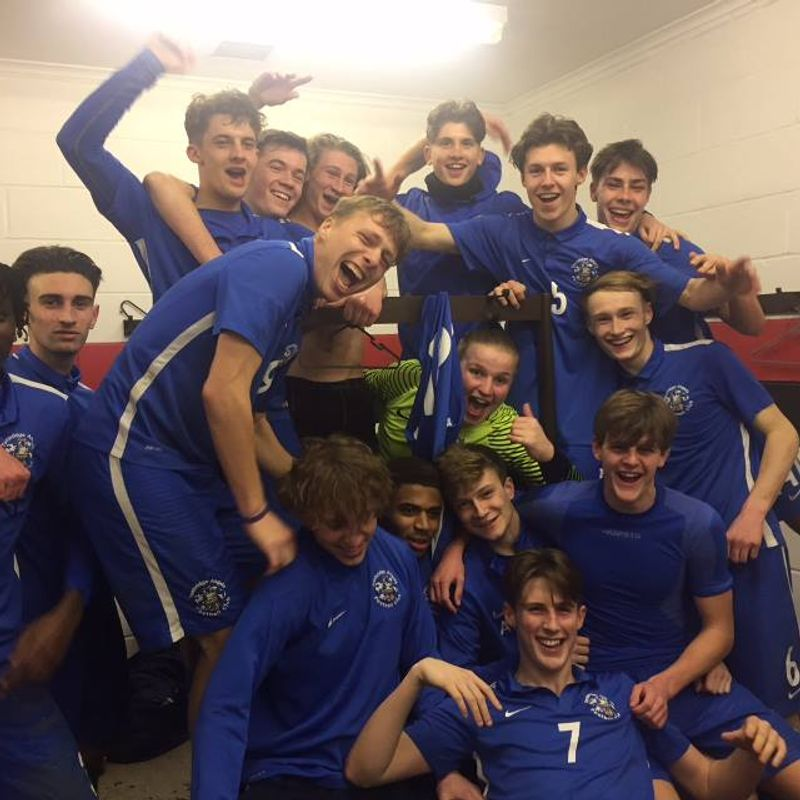 U18s in Ryman Youth League Cup Final