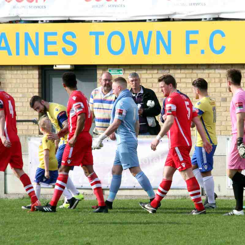 Staines Town v Angels, Ryman Premier, 11.03.17. by David Couldridge