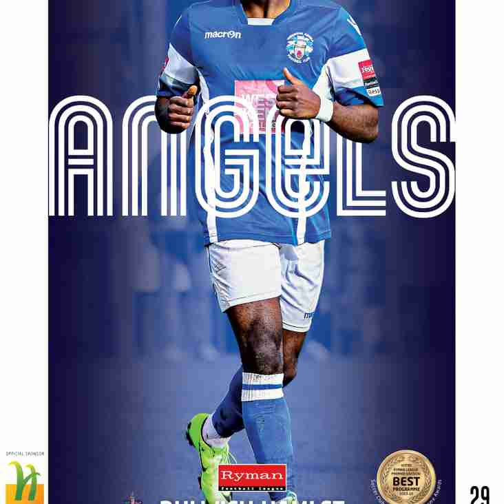 Angels v Dulwich Hamlet (Part 2) : 18.03.17. : Programme Preview