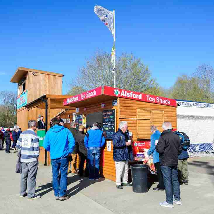 Match Day catering at Longmead. Help Required!