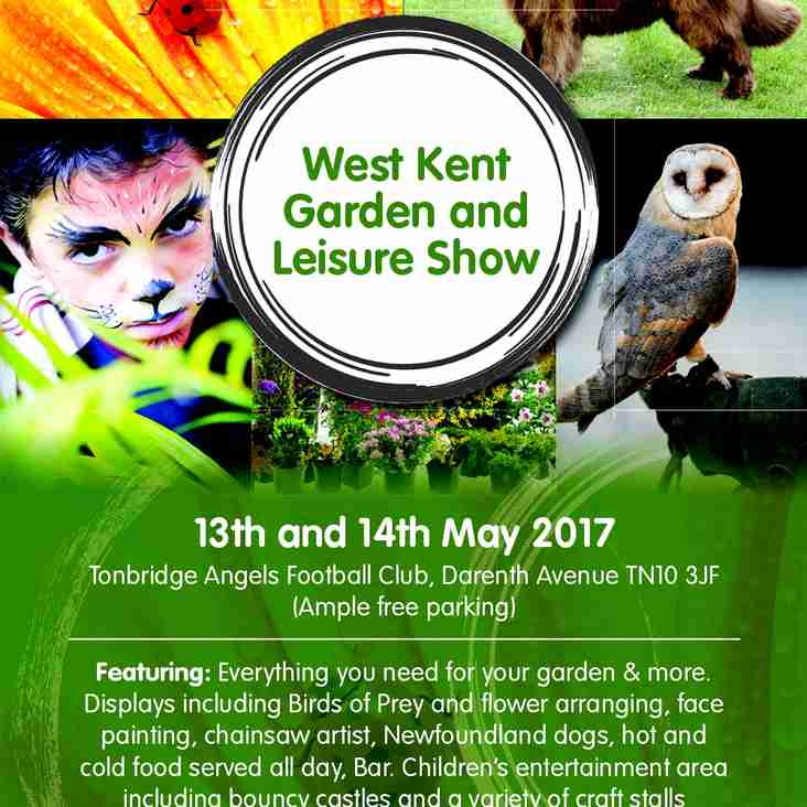 It's coming ! The West Kent Garden and Leisure Show