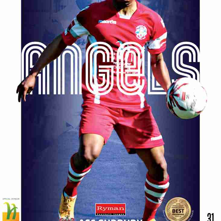 Angels v AFC Sudbury : 15.04.17. : Programme Preview