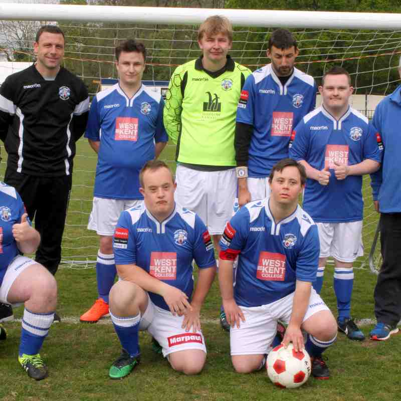Disability Match : Angels (1) v Maidstone Utd (6) : 22.04.17. By David Couldridge