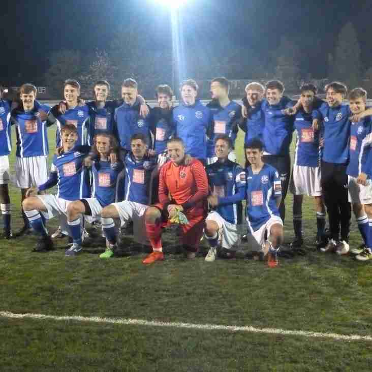 U18s make it to another cup final!
