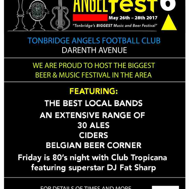 AngelFest 6. It's nearly here!