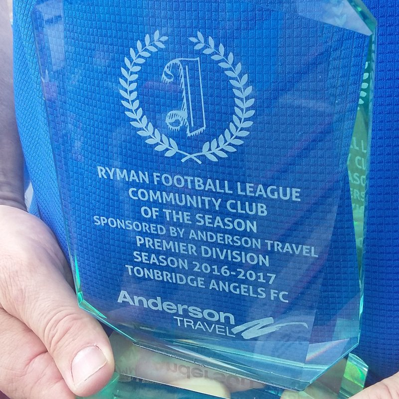 Angels bag Community Club of the Year Award