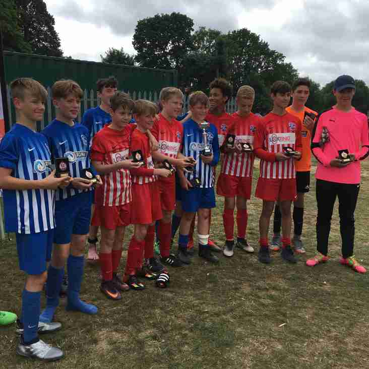 U14s win Ridgeway Tournament