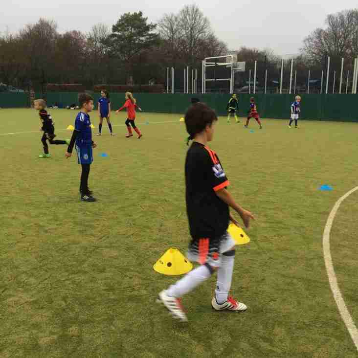 Half term soccer skills workshops