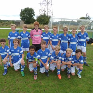 U13s forced to settle for draw