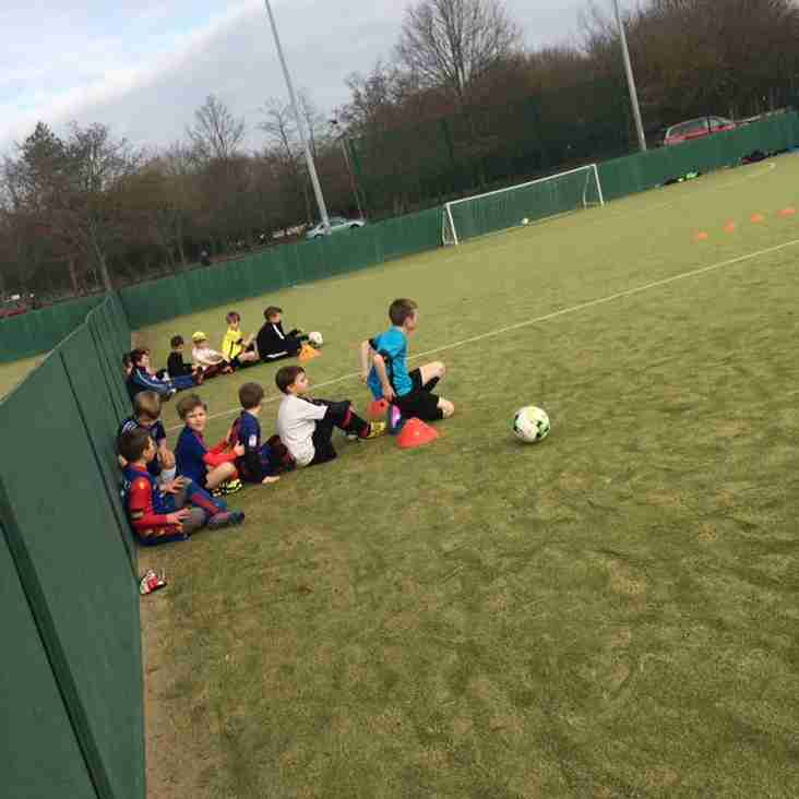 Places still available at Angels school holiday football courses