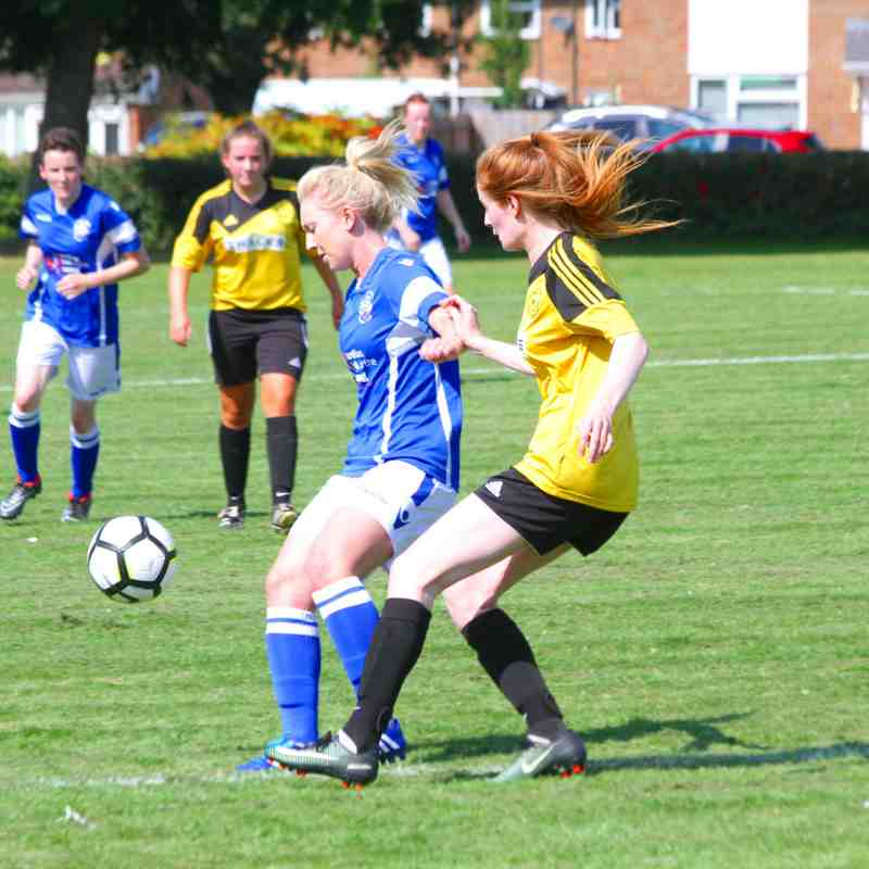 Crawley Wasps Reserves (2) v Angels Ladies (4) Pre-season friendly, 27.08.17. by David Couldridge
