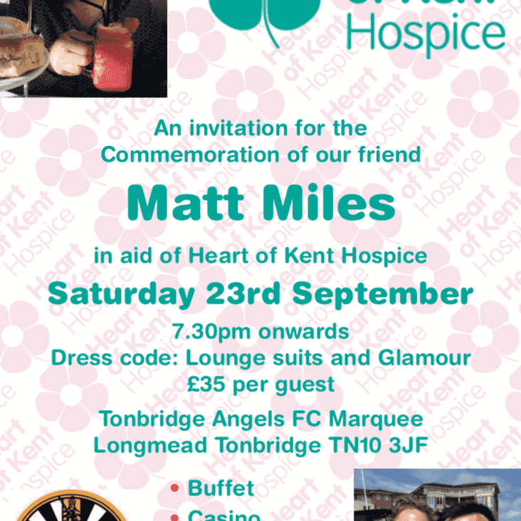 Heart of Kent Hospice and Round Table joint event at the Marquee