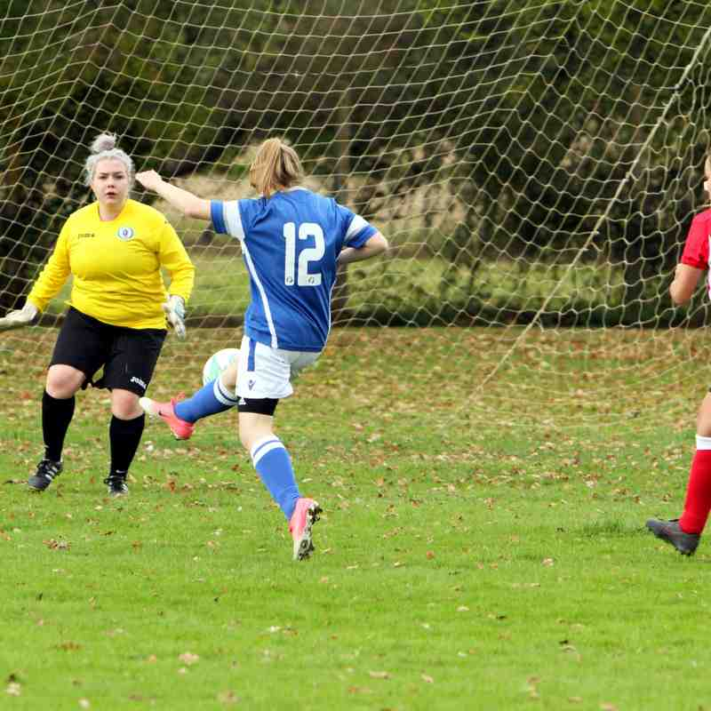 Angels Ladies(3) v Burgess Hill T. (2) Friendly 08.10.17. by David Couldridge