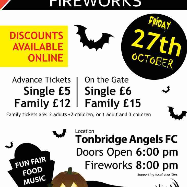 Tonbridge Fireworks