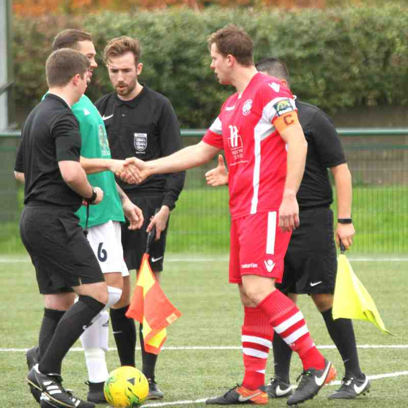Hendon(2) v Angels(1), Bostik Premier, 14.10.17. by David Couldridge